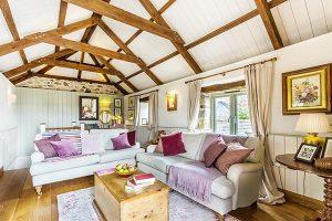 Old Pear Tree Barn Living Area