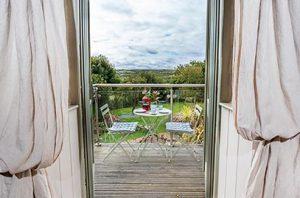 Old Pear Tree Barn Balcony Views